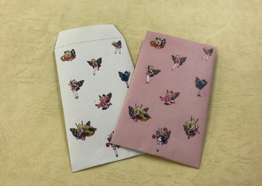 イベント:シモンちゃんポチ袋 テンプレートがダウンロードできます!
