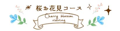 t04_桜お花見コース